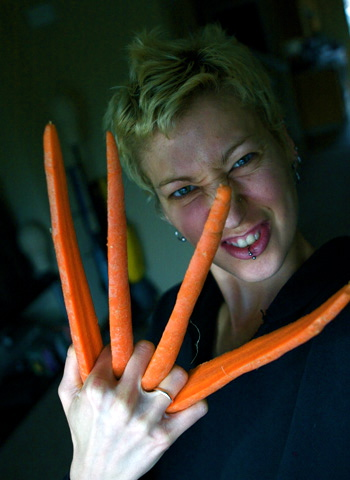 Attack Of The Colossal Carrots!