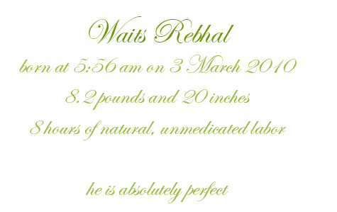 Waits_Announcement