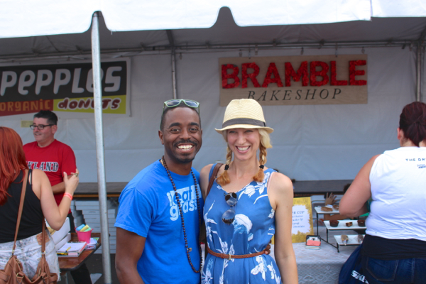 LA Vegan Beer Fest Sayward Ayinde Howel
