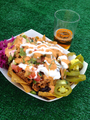 LA Vegan Beer Fest nachos