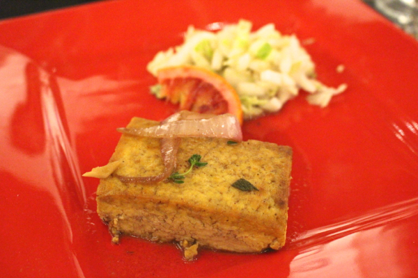 Lust Vegan pop-up baked tofu