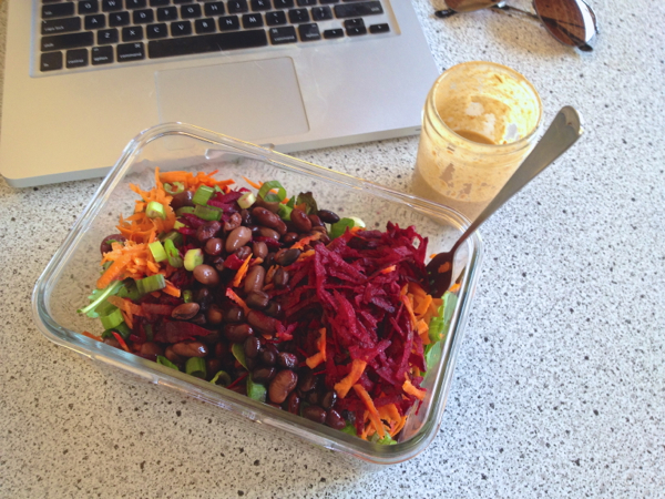 giant lunch salad