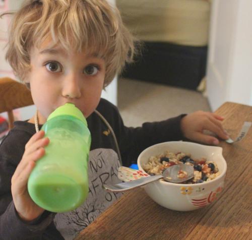 oats and oat milk