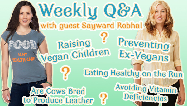 weekly q&a sayward