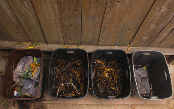 bin compost system