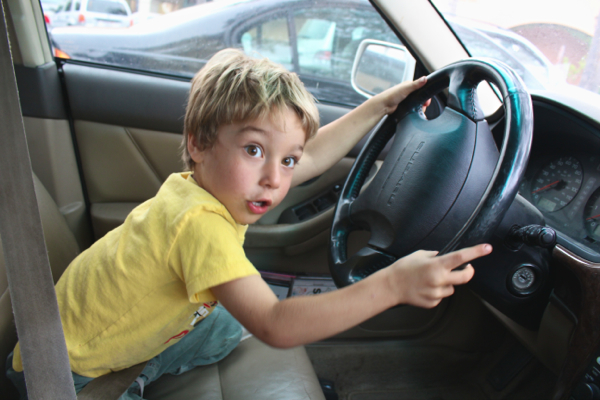 driving kid