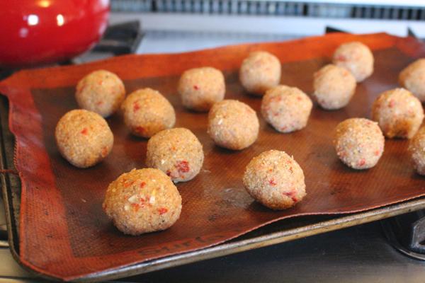 quinoa meat balls