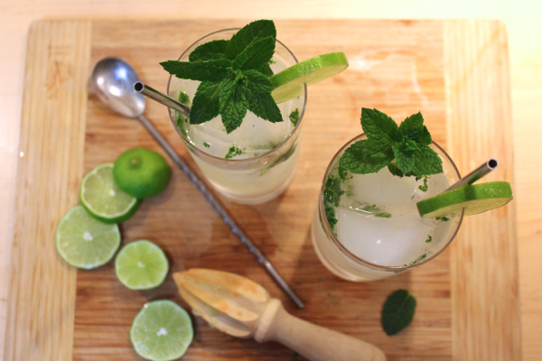 vegan mojitos