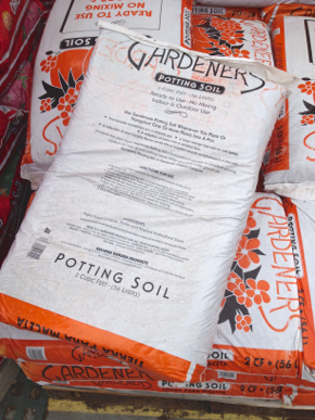 vegan potting soil
