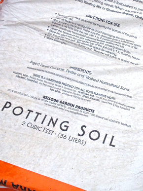veganic potting soil