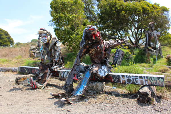 Albany Bulb sculpture