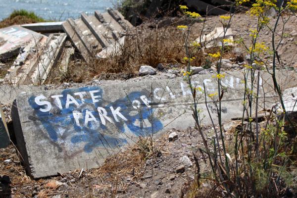 Albany bulb graffiti