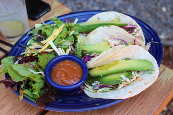 Tahoe vegan tacos