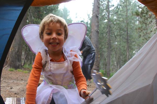 camping faerie costume