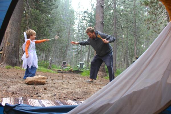 camping faerie
