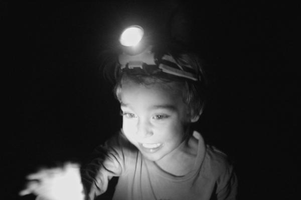 camping head lamp