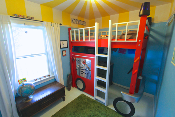 fire truck bedroom 13