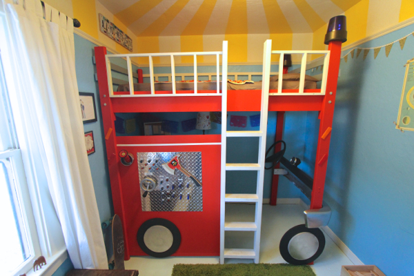 fire truck bedroom 14