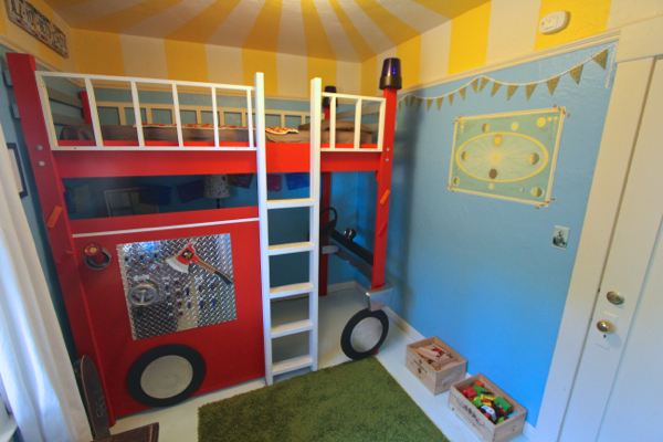 fire truck bedroom 15