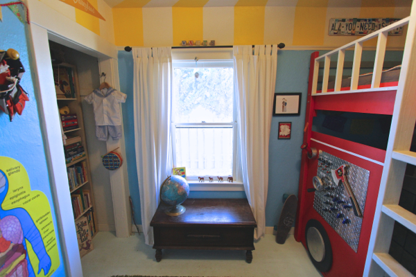 fire truck bedroom 22