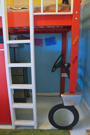fire truck bedroom 6