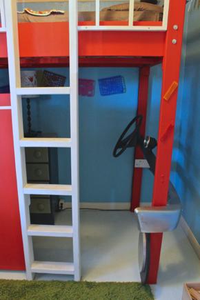 fire truck bedroom 7