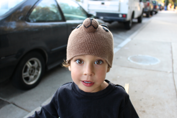 kid bear hat