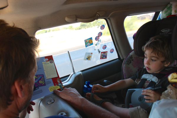 road trip reading kids books