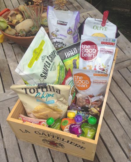 Vegan Camping Snack Box