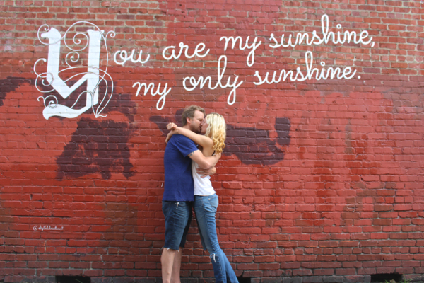 you are my sunshine wall