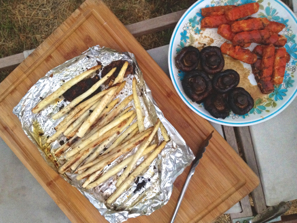 Labor Day vegan barbecue