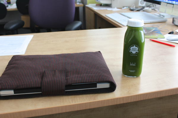 green juice in meeting