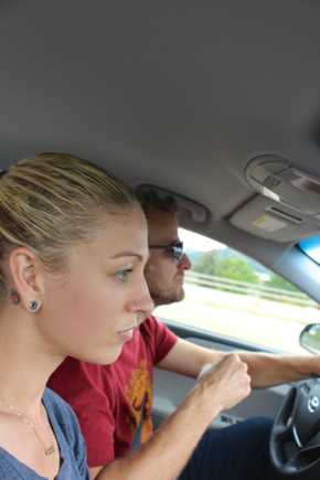 road trip silliness