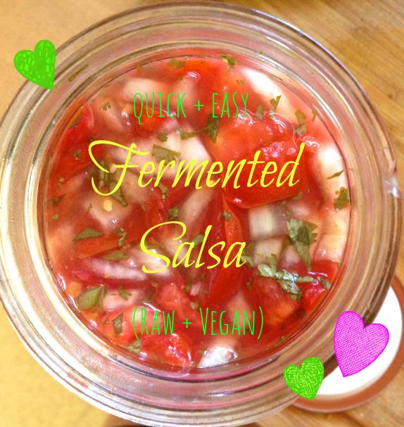 vegan fermented salsa