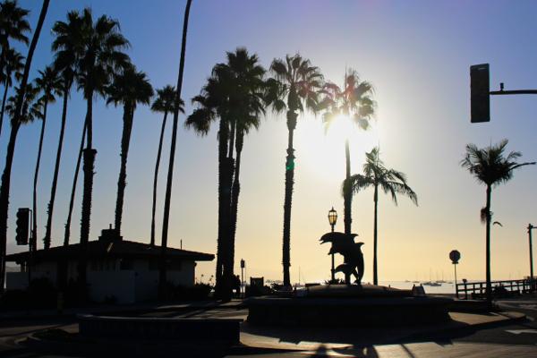coastline silhouette