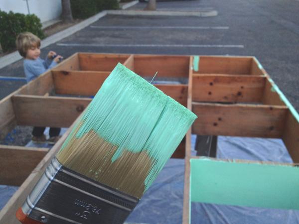 Still renovation painting