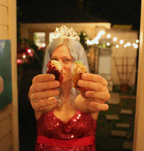 mah birfday cupcakes