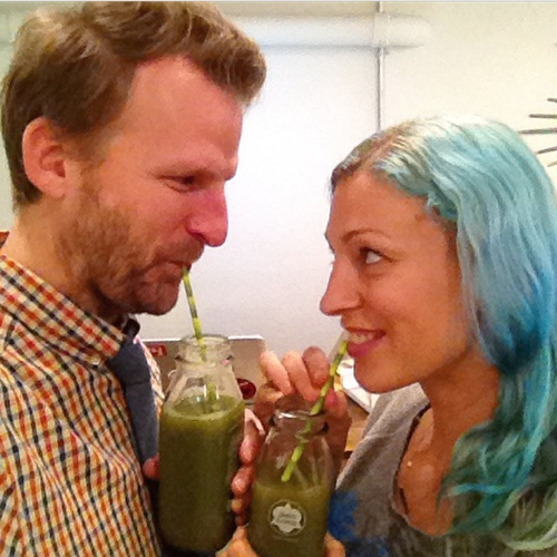 green juice for two