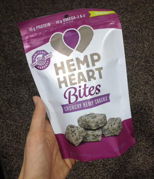 Hemp Bites at Expo West