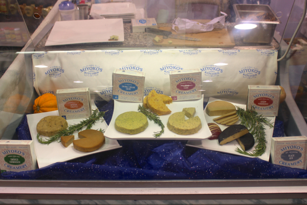 Miyoko cheese at Expo West