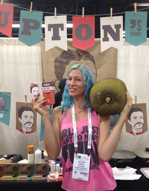 uptons jackfruit expo west