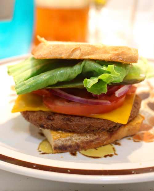 follow your heart vegan cheeseburger