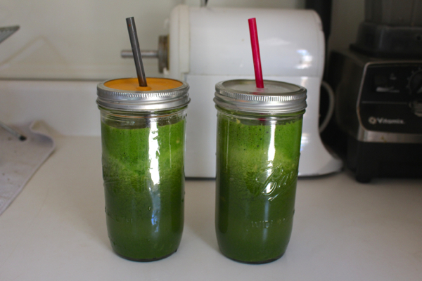 green juice every day