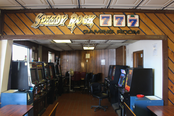 truck stop gaming room