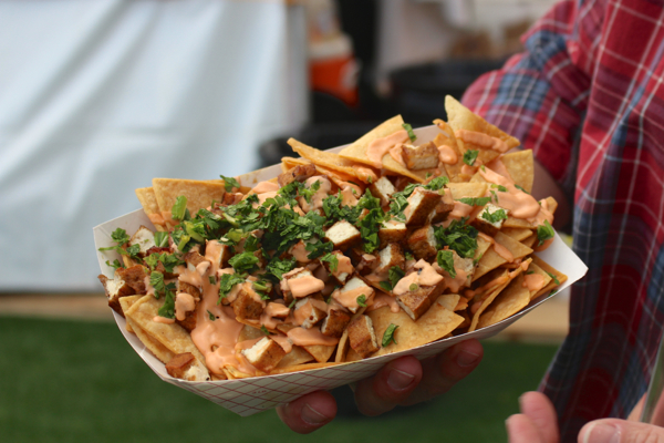 vegan beer fest vietnamese nachos