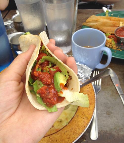 Austin vegan tacos 2