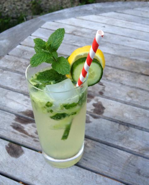 garden to glass cocktail