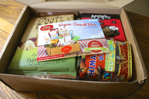 vegan tuck box treats