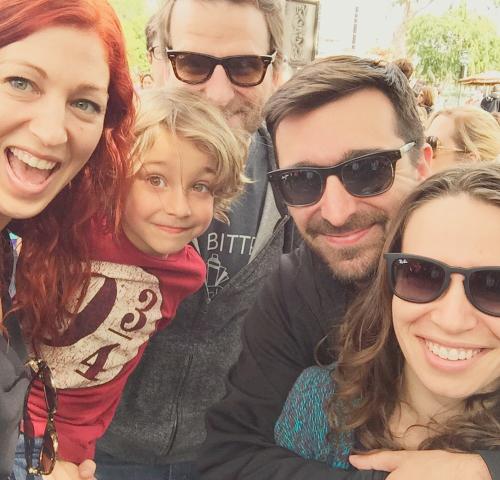 disneyland vegan family