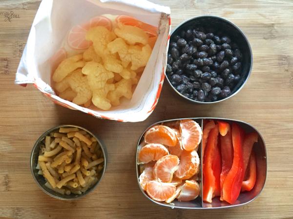 eco vegan lunch